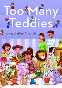 Too Many Teddies Children's Book