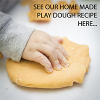 Home Made Play Dough Recipe